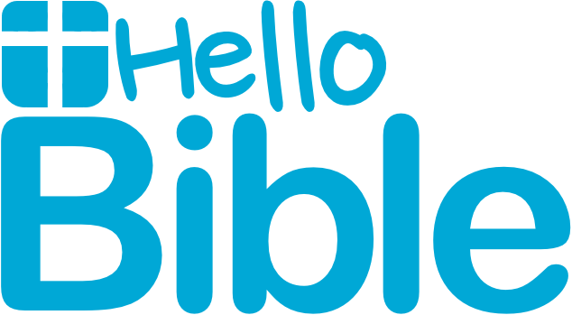 picture of the HelloBible logo