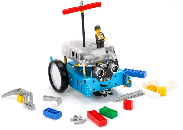 mbot with lego attachments