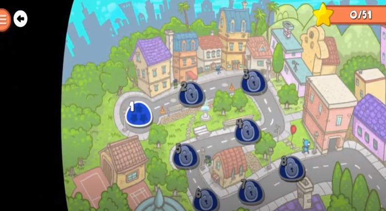 screenshot of codeSpark level overview