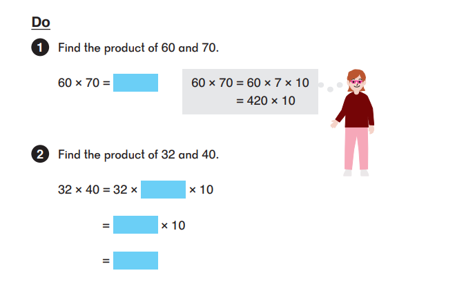 image from singapore math dimensions showing the do stage