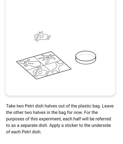 screenshot of mel chemistry assistant instructions
