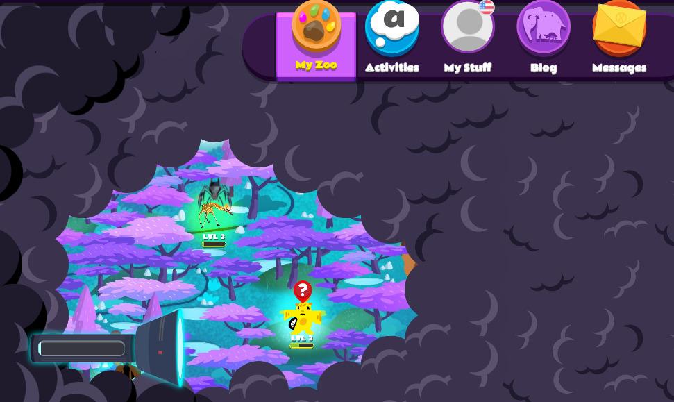 Screenshot of Night Zookeeper map